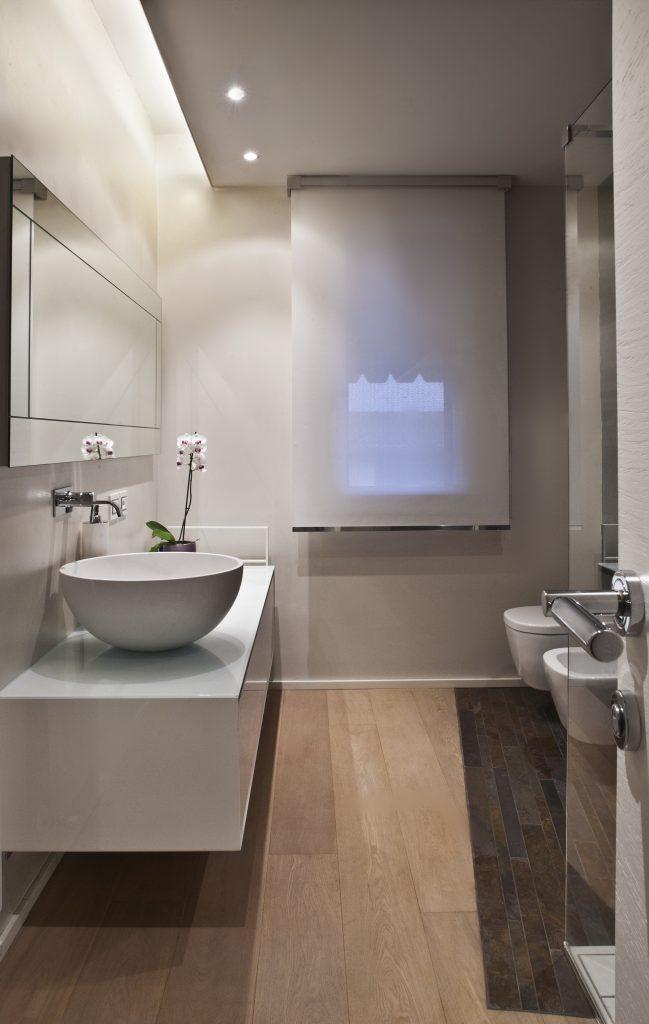 Foto realizzazioni bagni in pietra travertini pietre - Bagni piccoli progetti ...