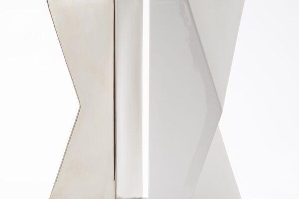 vaso platino schiena schiena